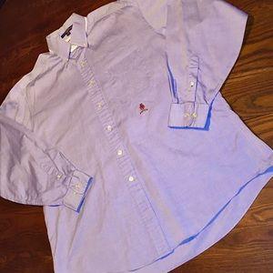 "Tommy Hilfiger XL 16.5"" Dress Shirt Crest Pocket"